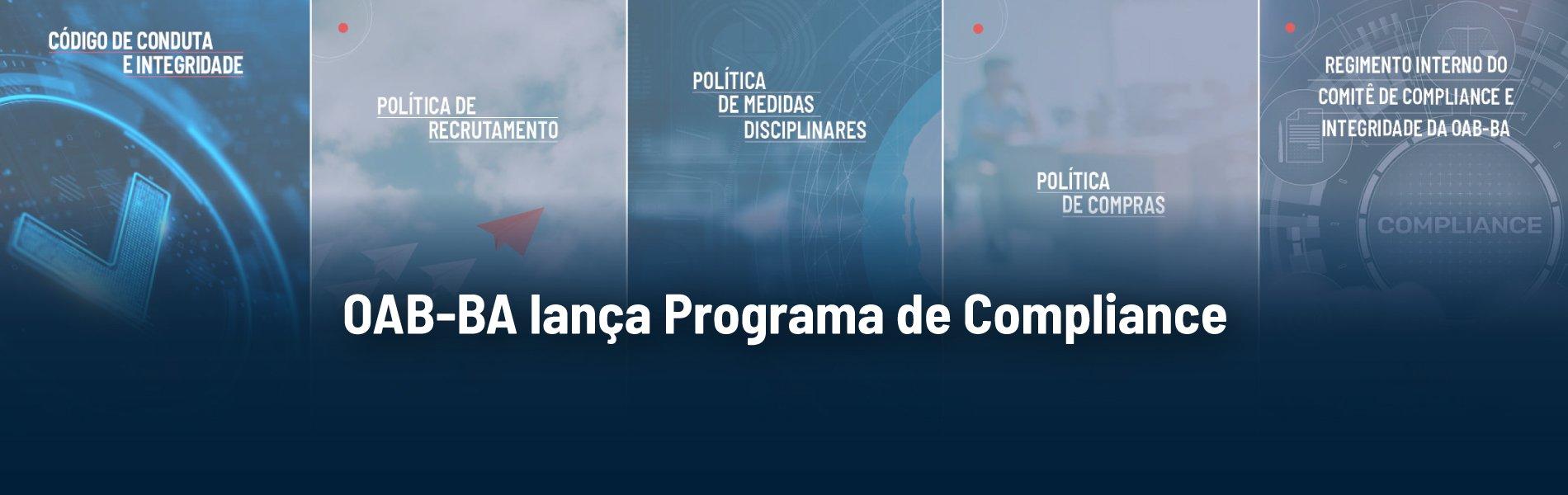 [OAB-BA lança Programa de Compliance]