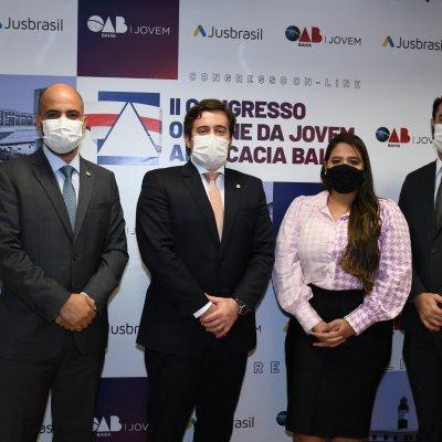 [II Congresso On-line da Jovem Advocacia Baiana é aberto com mais de 5 mil inscritos]