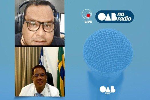 [No OAB no Rádio, Luiz Coutinho lança campanha de vacinação contra H1N1]