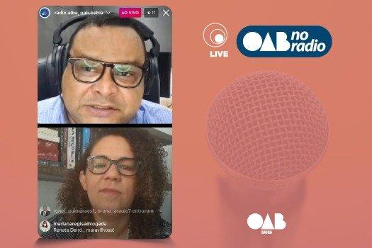 [OAB no Rádio recebe presidente da Comissão de Proteção aos Direitos da Mulher, Renata Deiró]