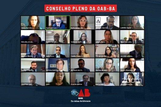 [OAB da Bahia aprova Plano de Valorização para Advocacia Associada]