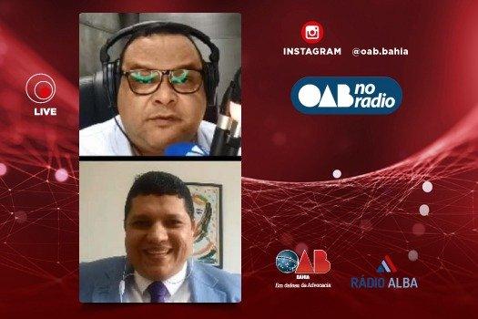 [OAB no Rádio fala sobre realidade da advocacia em Valença]