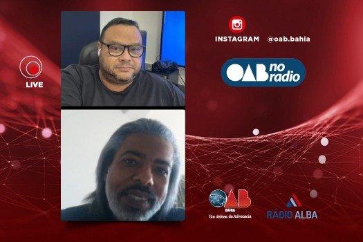 [Vice-presidente da Subseção de Simões Filho é entrevistado no OAB no Rádio]